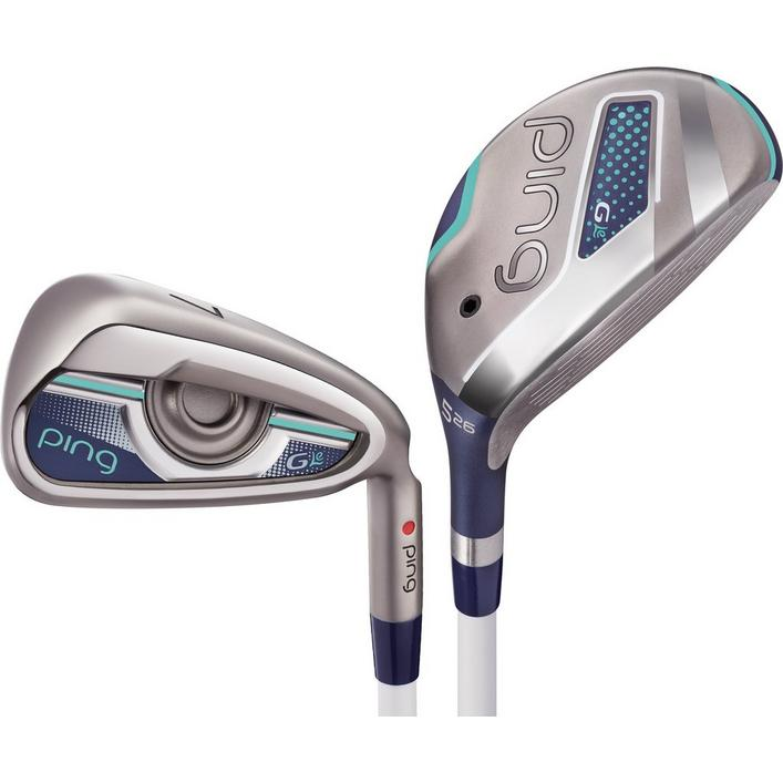 Women's G LE 4H, 5H 6-PW,SW with Graphite Shafts