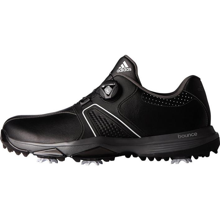 Men's 360 Traxion BOA Spiked Golf Shoe - Black