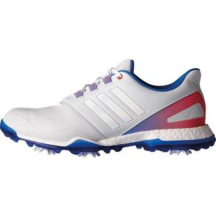Women's Adipower Boost 3 Spiked Golf Shoe - Wht/Blu