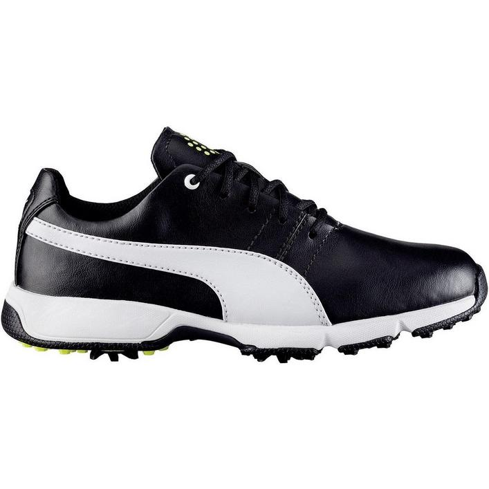 Junior Titantour Cleated Golf Shoe - Blk/Wht