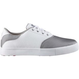 Chaussures Tustin Saddle sans crampons pour femmes – Gris/Blanc