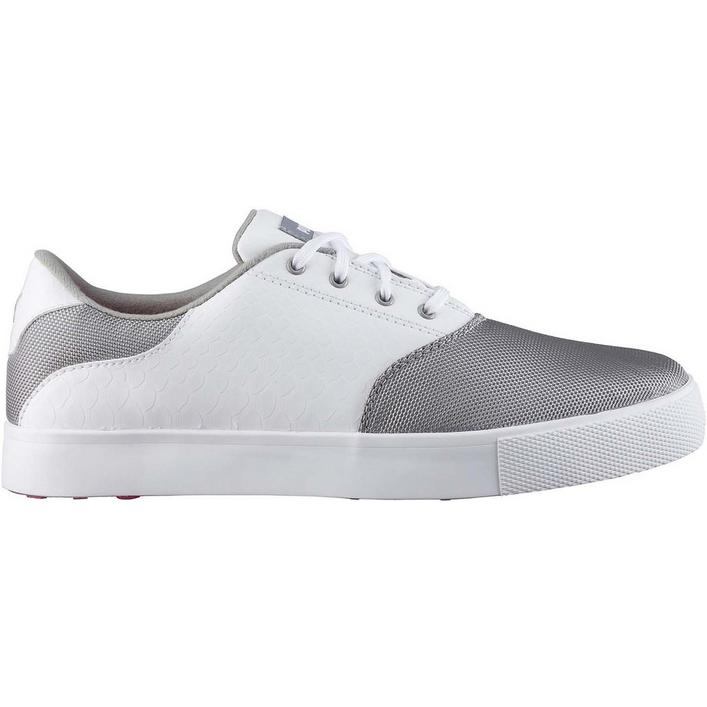 Women's Tustin Saddle Spikeless Golf Shoe - Gry/Wht