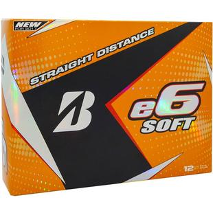 e6 Soft White Golf Balls
