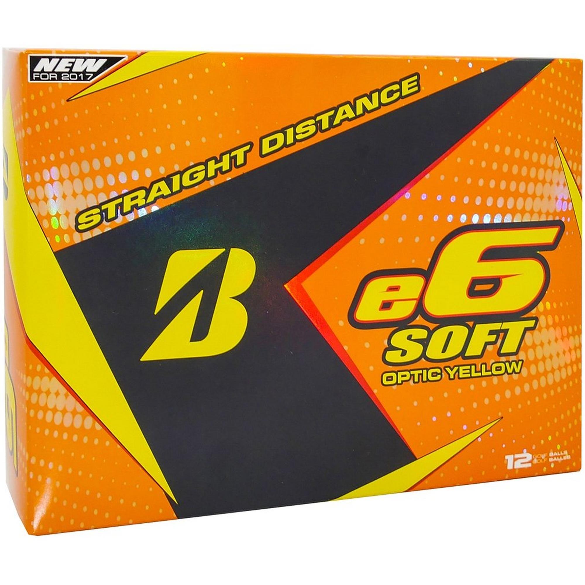 e6 Soft Yellow Golf Balls