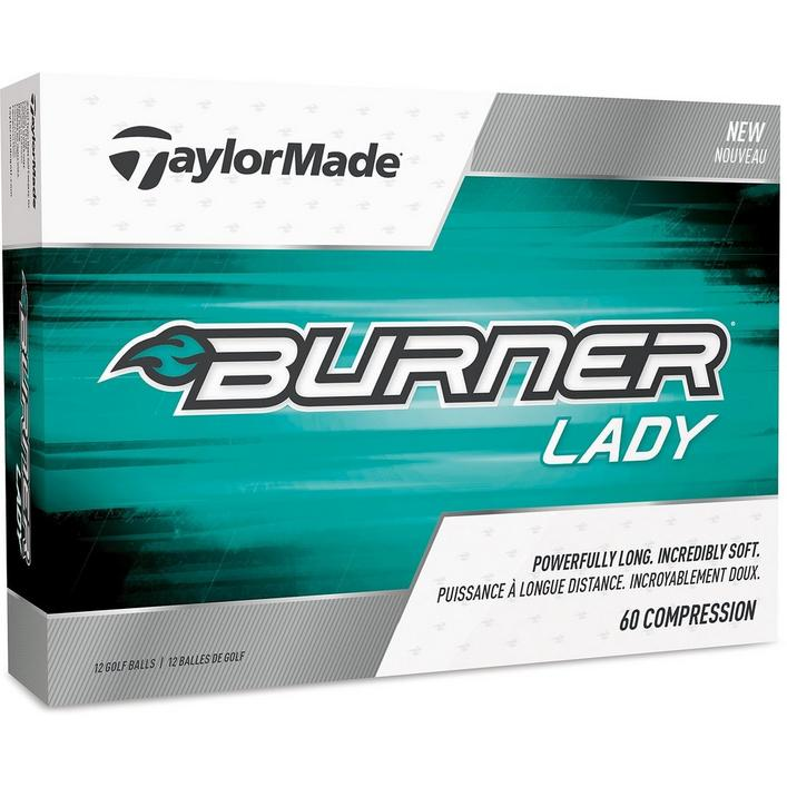 Women's Burner Golf Balls - White