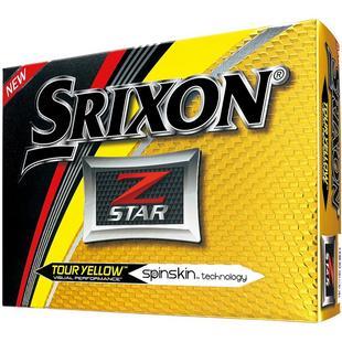 Prior Gen Z-Star Tour Yellow Golf Balls
