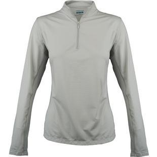 Veste Cooling à glissière 1/4 à manches longues pour femmes
