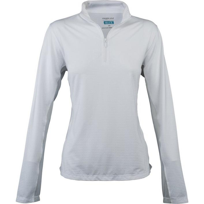 Women's Cooling Long Sleeve Quarter Zip