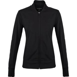 Women's Bomber Zip Front Jacket