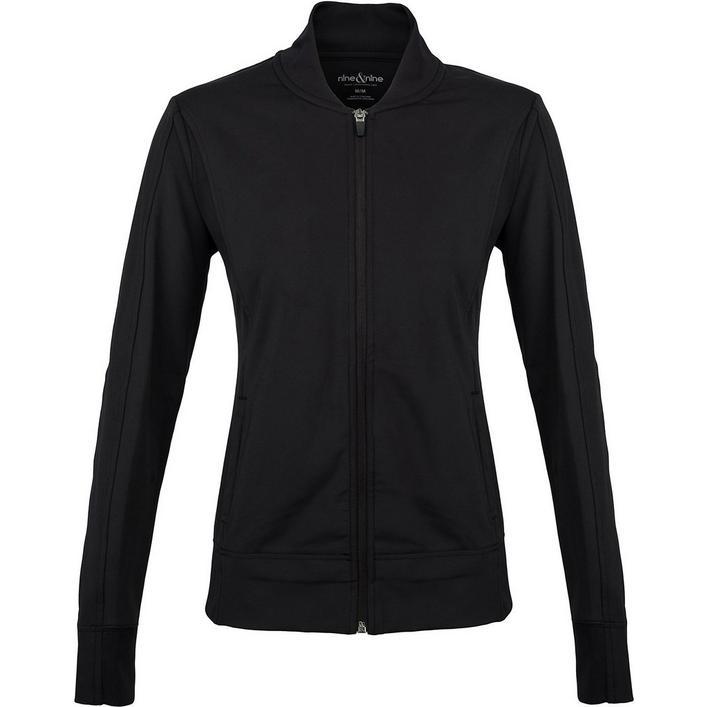 Women's Bomber Zip Front Jacket