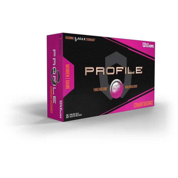 Women's Profile V-Max Golf Balls 15PK - Pink
