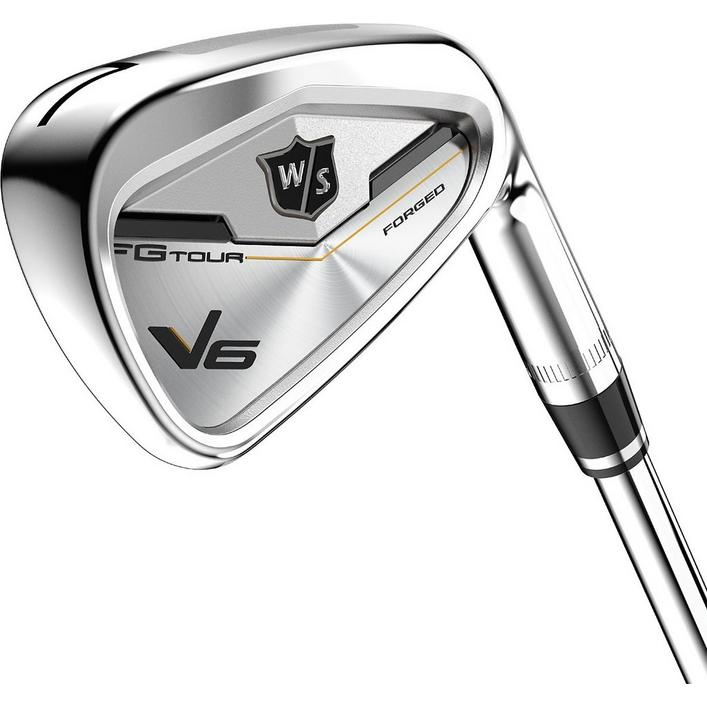 FG Tour V6 4-PW, AW Iron Set with Steel Shafts