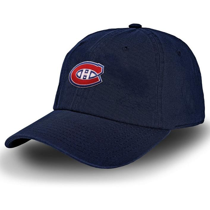 Men's Racing Stripe Montreal Canadiens Cap