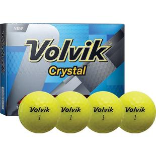 Crystal Golf Balls - Yellow