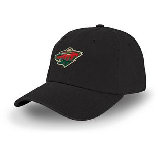 Men's Racing Stripe Minnesota Wild Cap