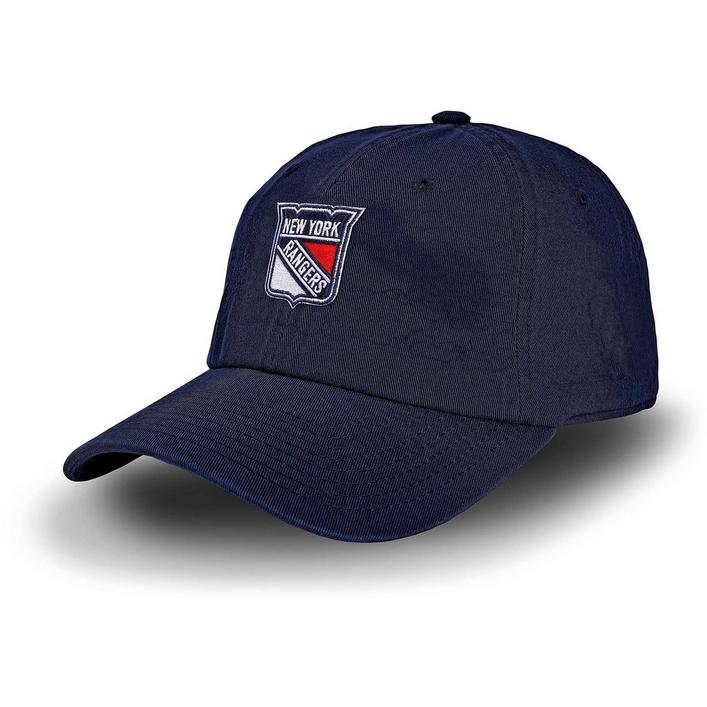 Men's Racing Stripe New York Rangers Cap
