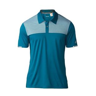 Men's Competition Block Short Sleeve Polo