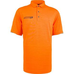 Men's Frequency Heathered Short Sleeve Polo