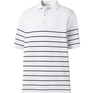 Men's Engineered Stripe Short Sleeve Polo