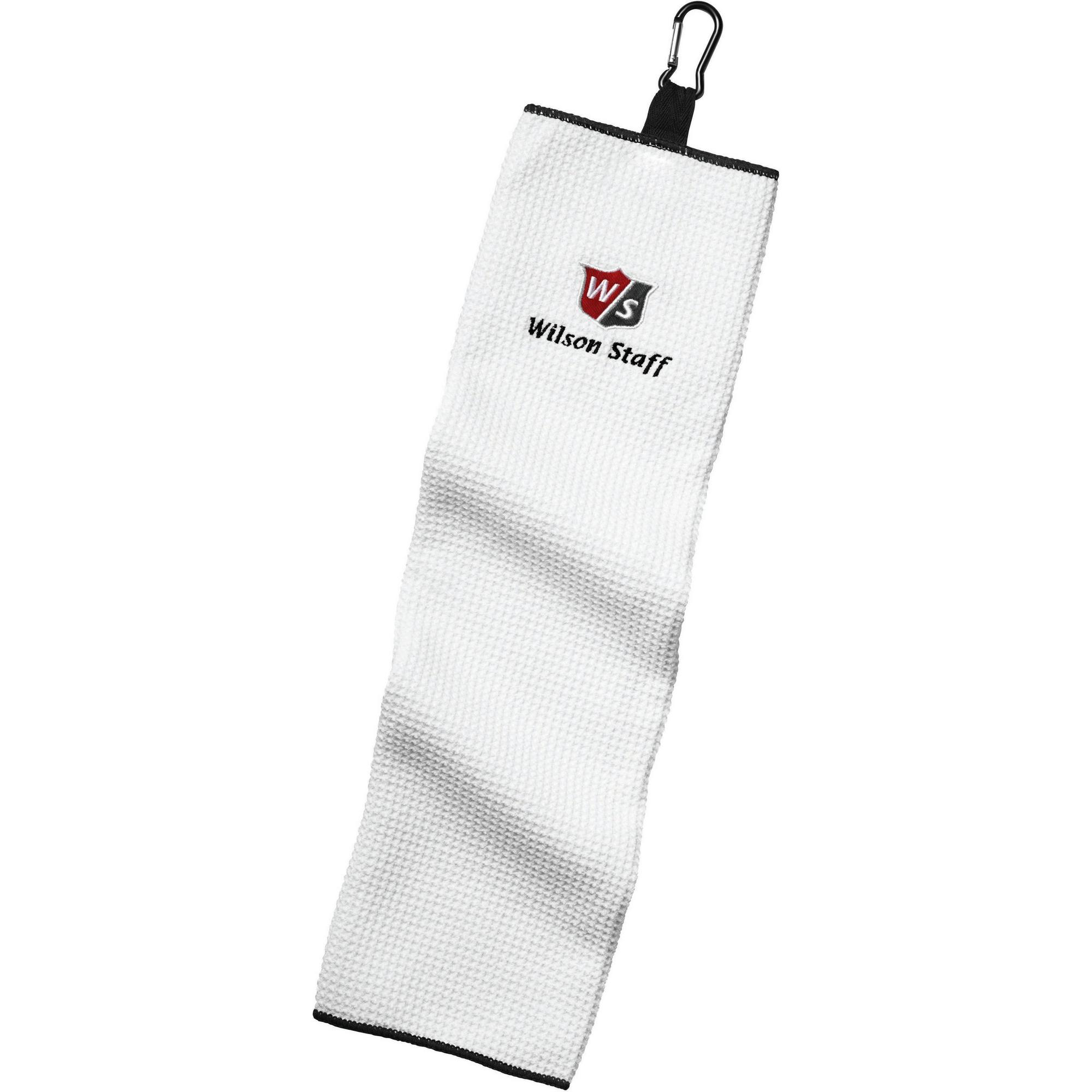 Microfiber Trifold Towel - White