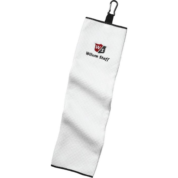 Microfiber Trifold Towel - White