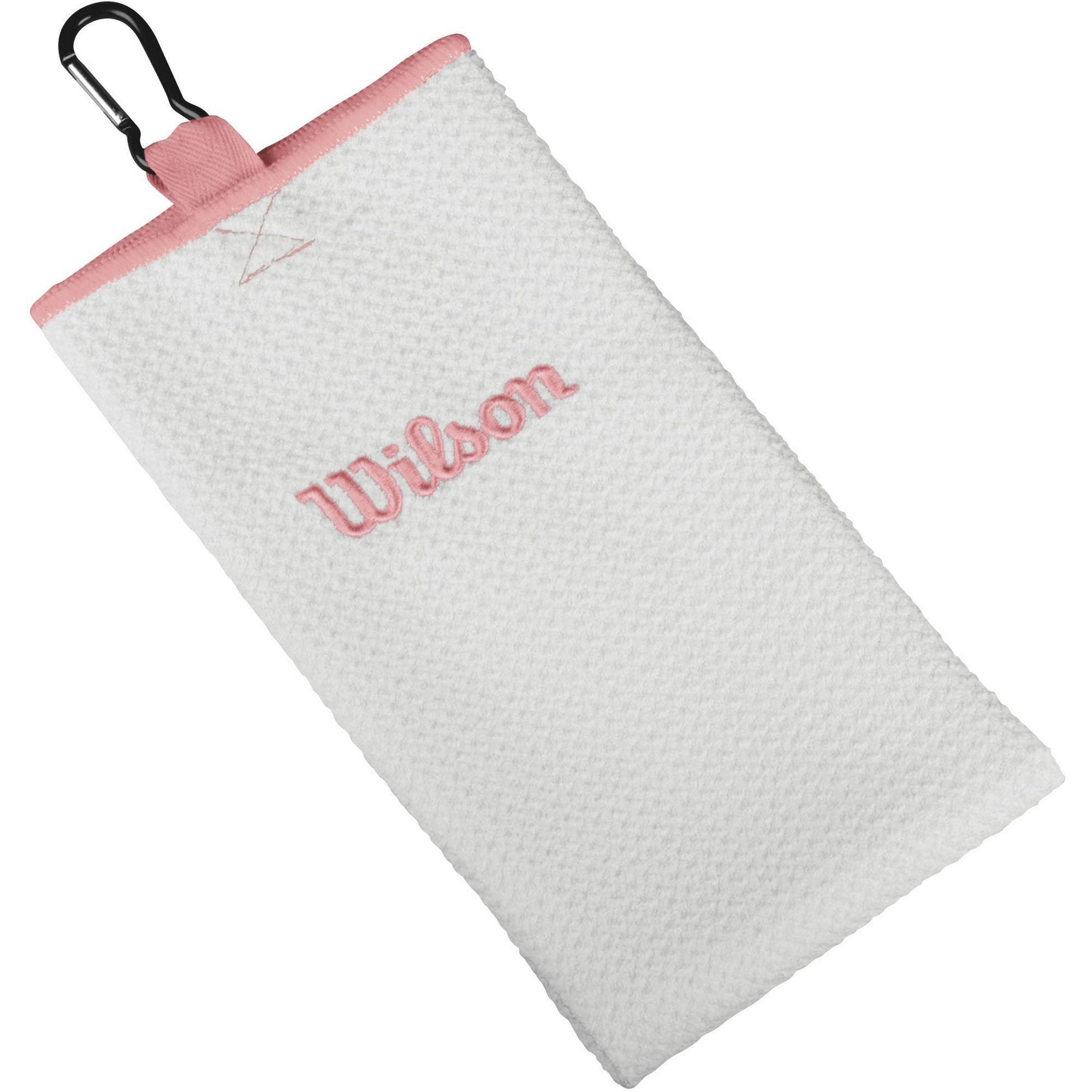 Wilson Microfiber Trifold Towel - Pink