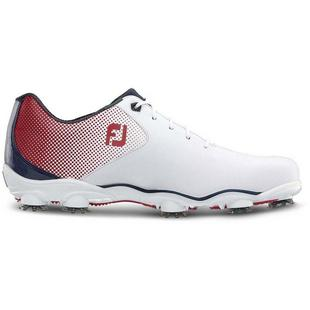 Men's DNA Helix Spiked Shoe - White/Blue/Red