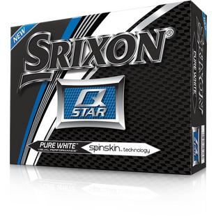 Q-STAR, 12 balles - Blanc