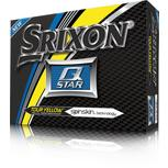Q-Star 4 Golf Balls - Yellow