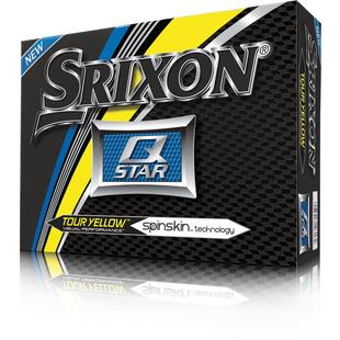 Q-Star Golf Balls - Yellow