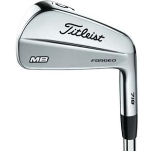 718 MB 3-PW Iron Set with Steel Shafts