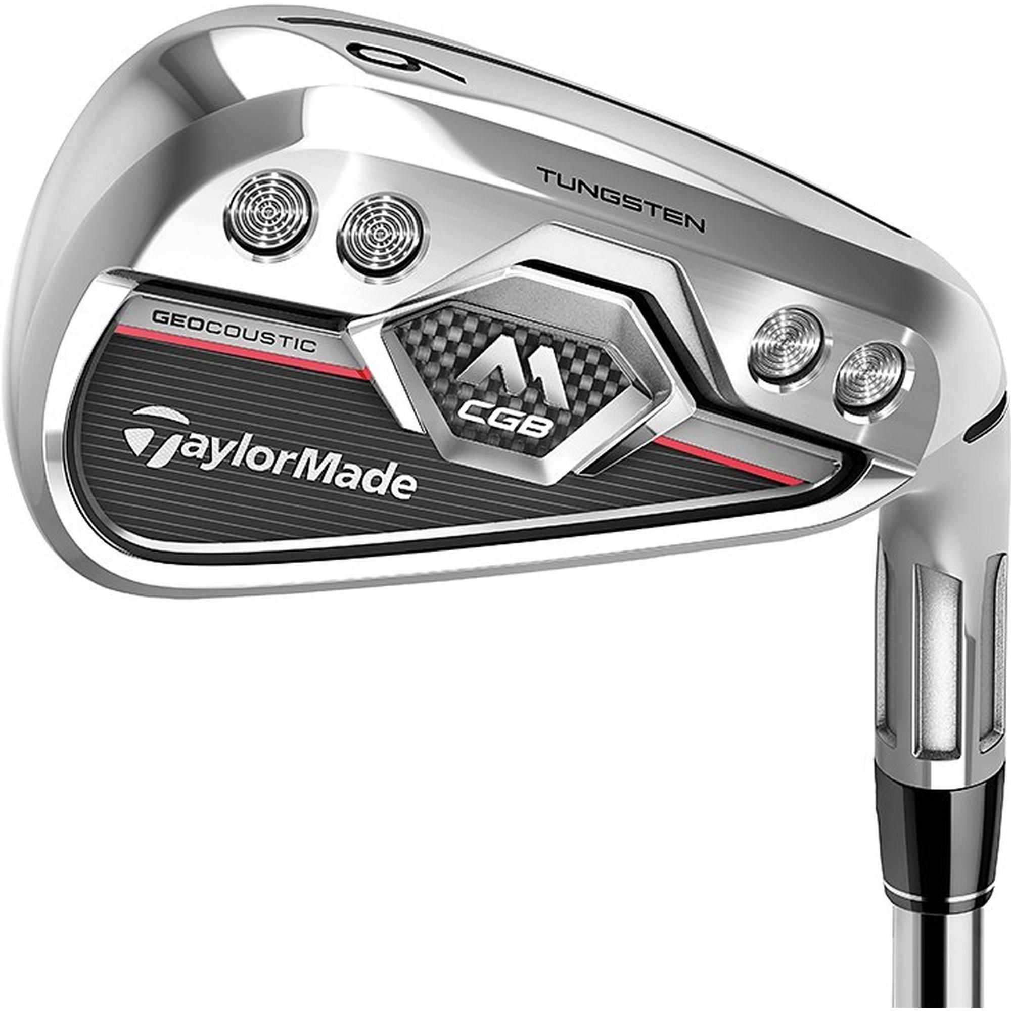 M CGB 4-PW, AW Iron Set with Graphite Shafts