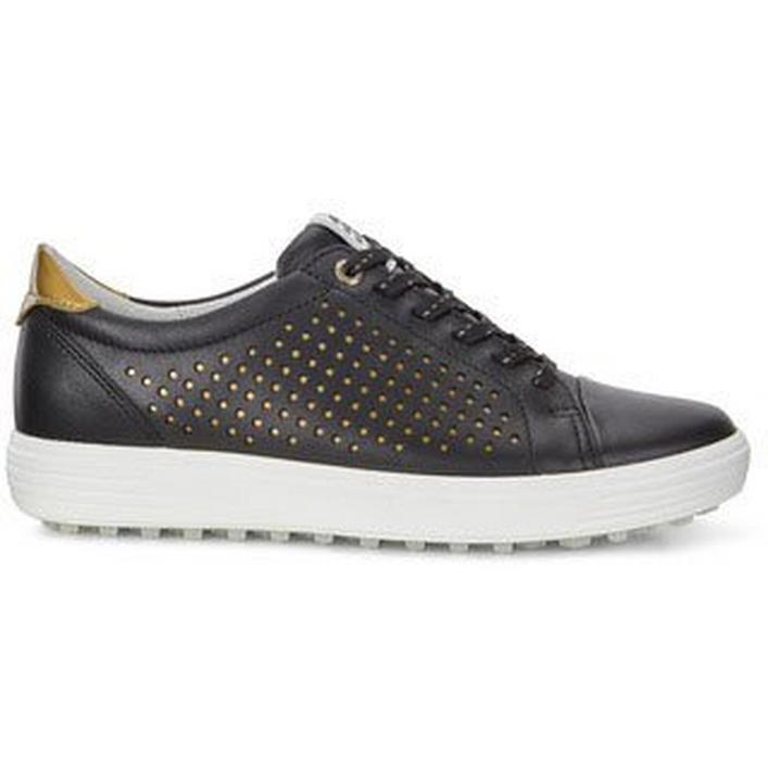 Women's Casual Hybrid 2 Perf Spikeless Shoe - Black/Gold