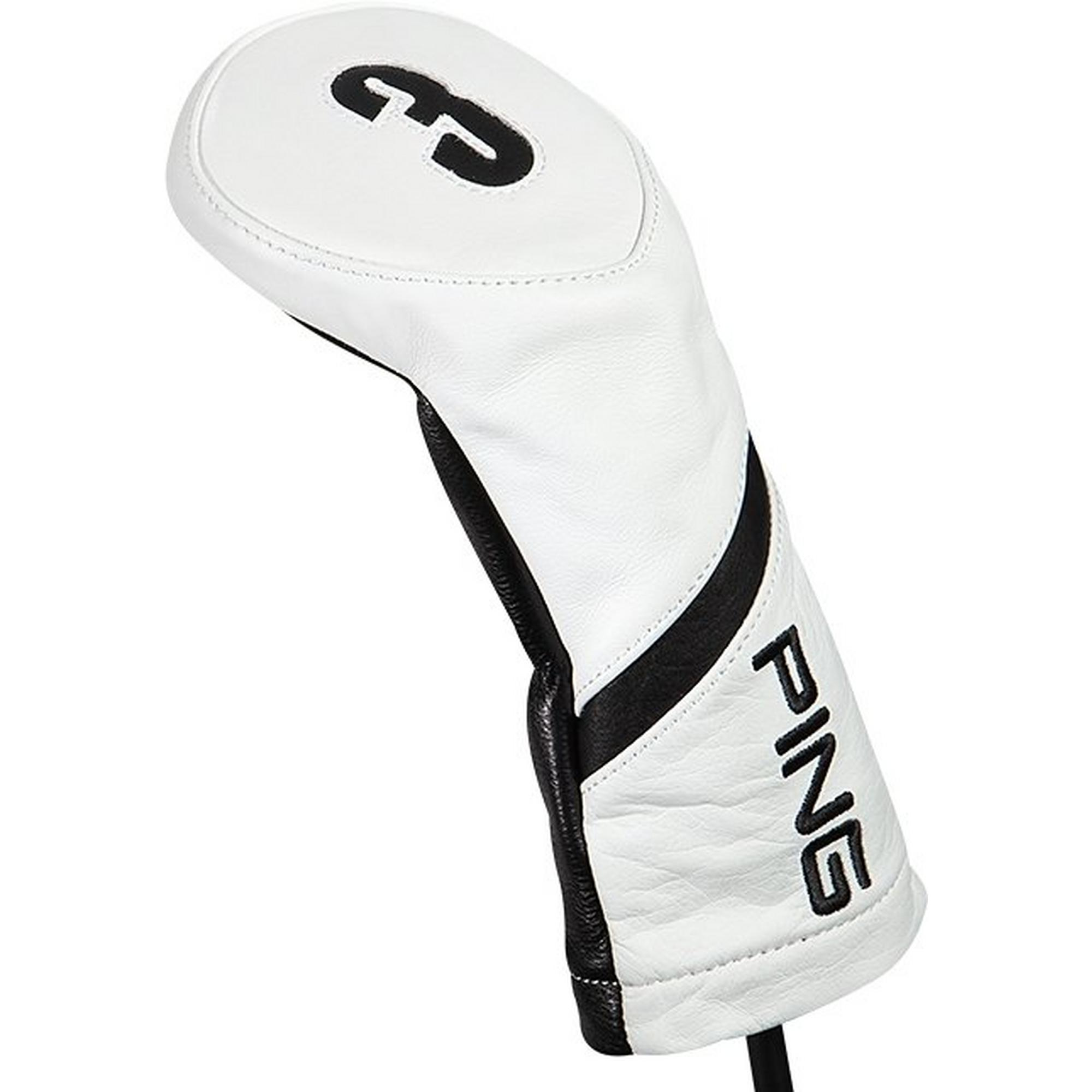 100% Leather Fairway Headcover
