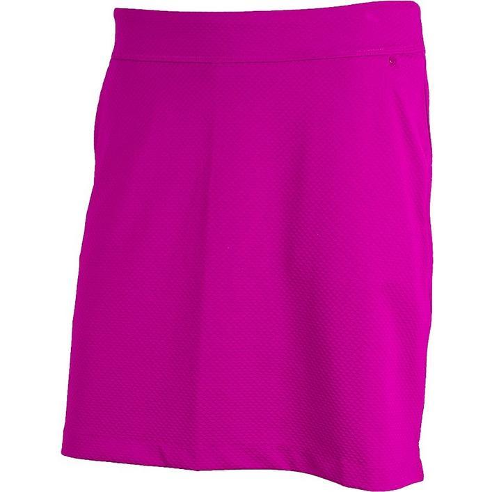 Jupe-pantalon tissée texturée de 18 po pour femmes