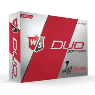DUO Soft Spin Golf Balls - White