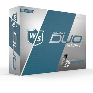 Women's DUO Soft Golf Balls - White