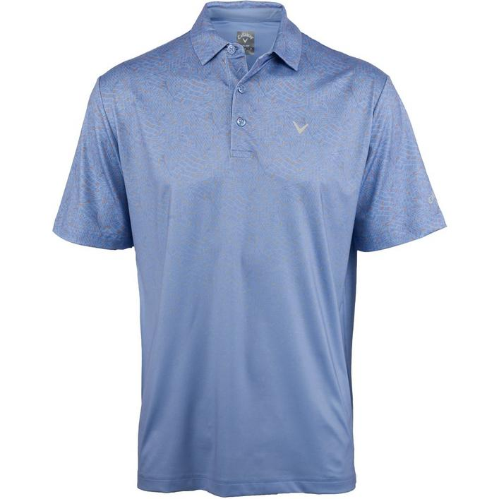 Men's Ace Motion Print Short Sleeve Polo