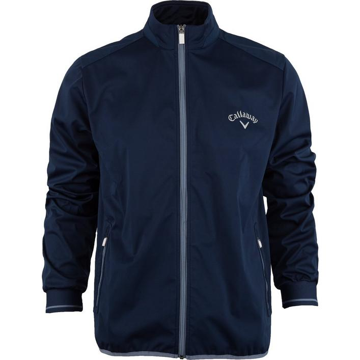 Men's Full Zip Long Sleeve Wind Jacket