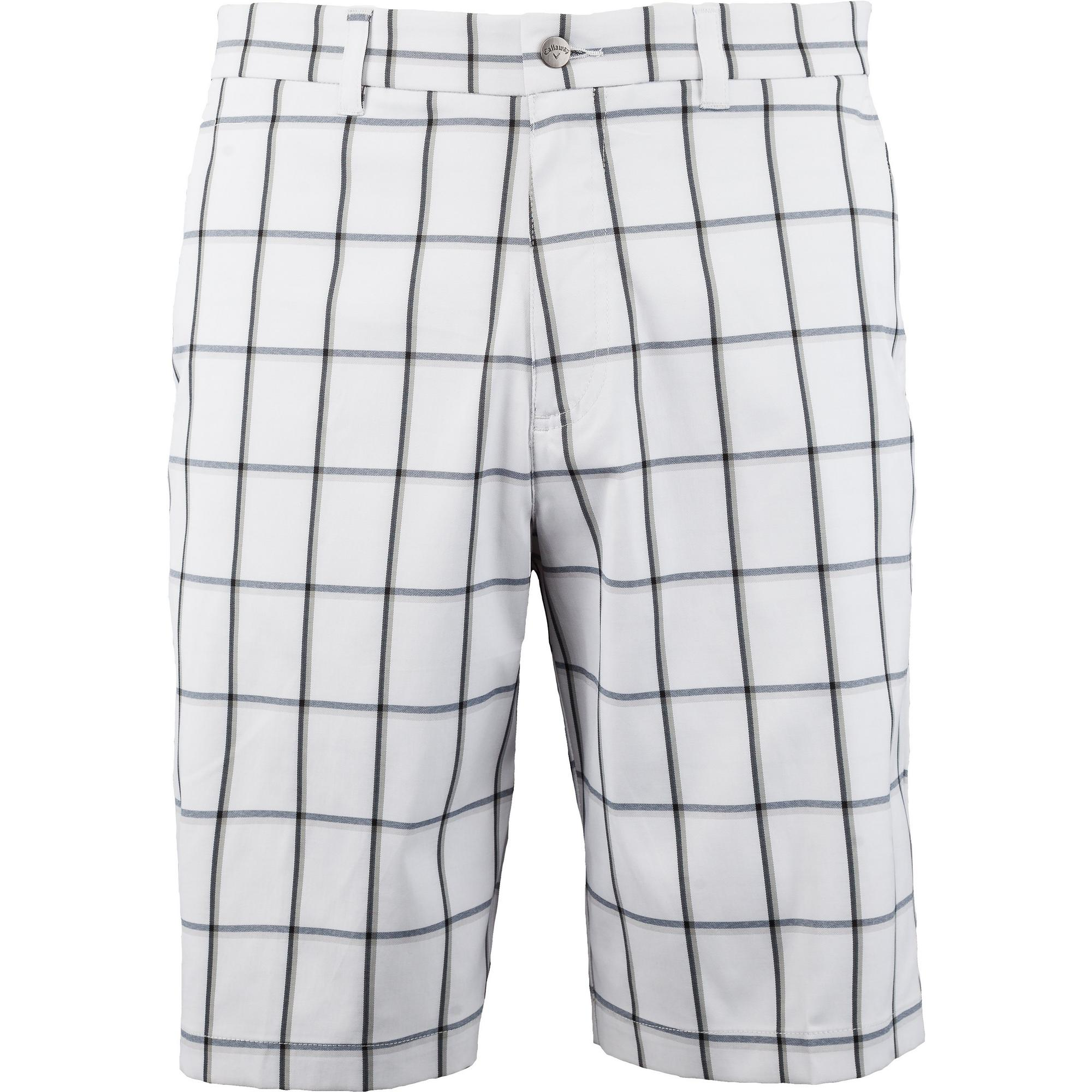 Men's Herringbone Plaid Shorts