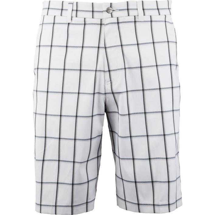 Men's Herringbone Plaid Shorts