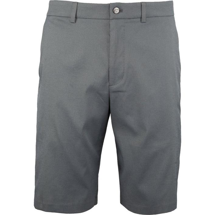 Pantalon court Oxford avec taille élastique Active Stretch pour hommes
