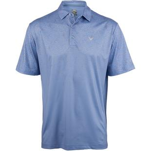 Men's B&T Ace Motion Print Short Sleeve Polo