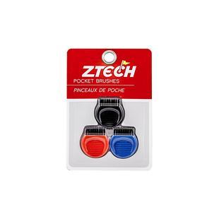 ZTECH D Brush 3 pack- red, black, blue