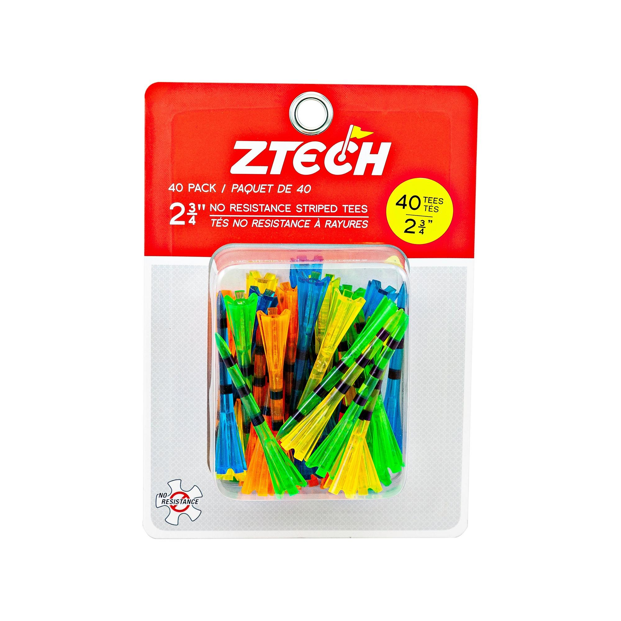 "ZTECH Translucent tees 2 3/4"" 40 pack"