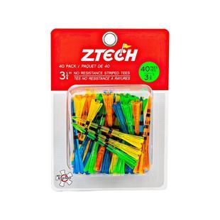 "ZTECH Translucent tees 3 1/4"" 40 pack"