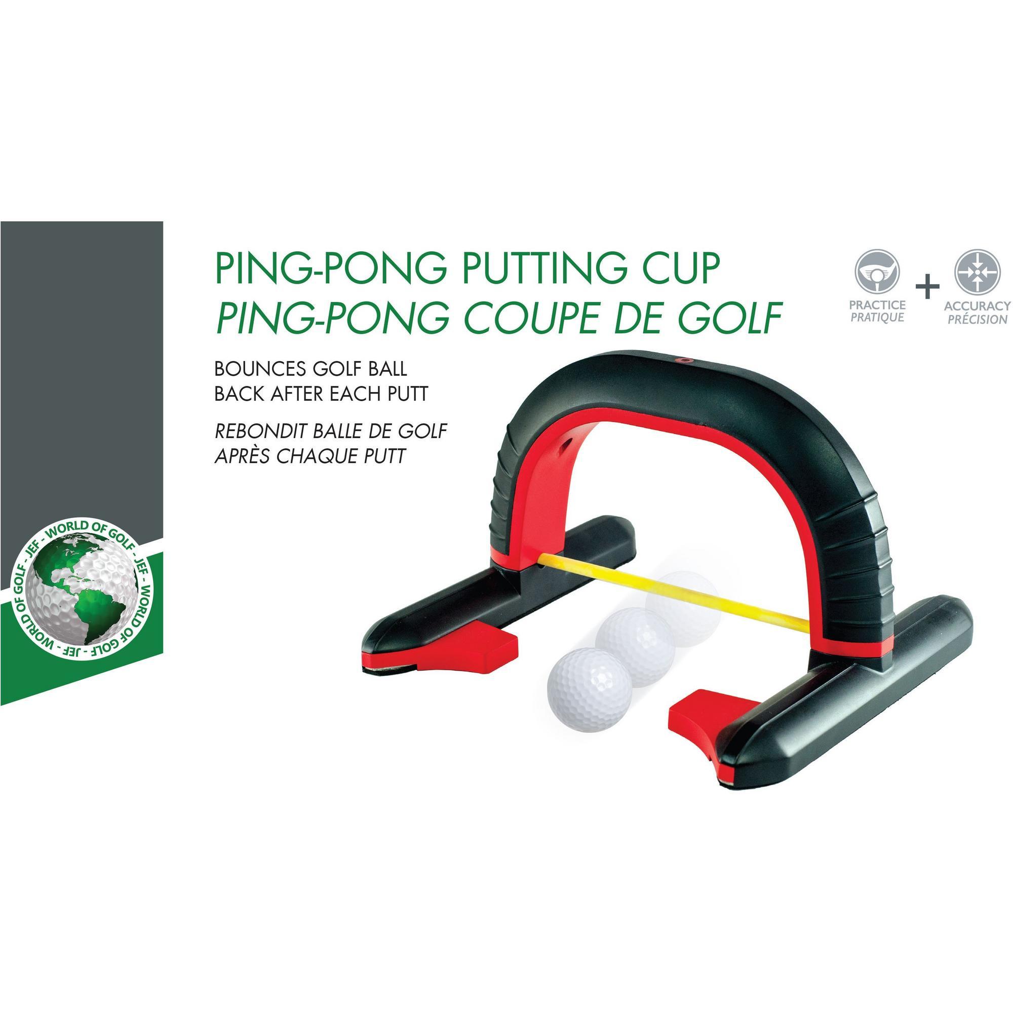 Ping Pong Golf putting unit