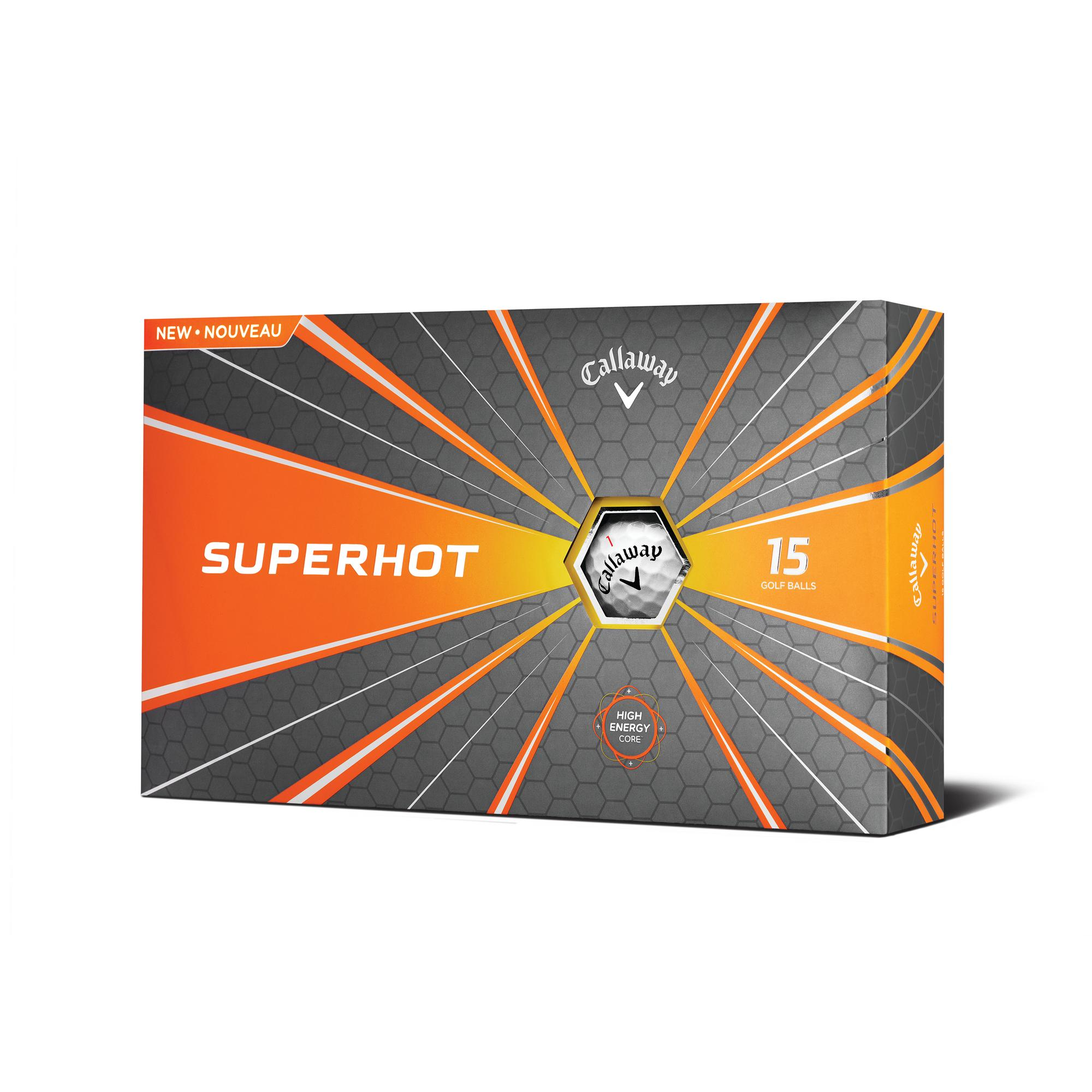 2018 Superhot Golf Balls - 15PK