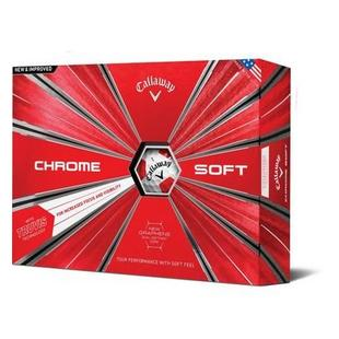 Chrome Soft Truvis Golf Balls