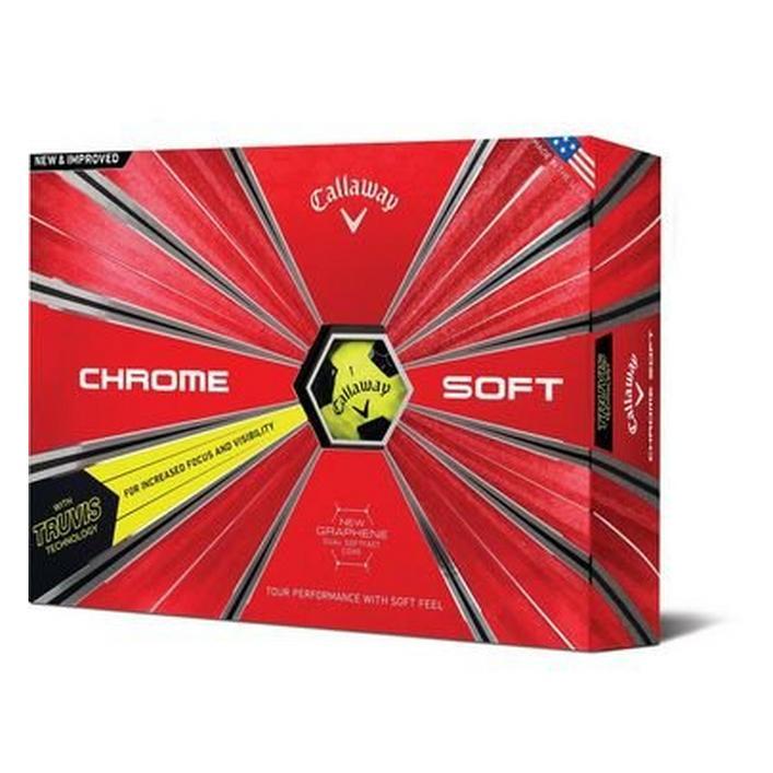 Balles Chrome Soft Truvis